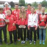 10 HSV-Medaillen bei den Kärntner Landesmeisterschaften Sprint-Triathlon