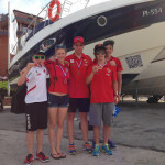 4 HSV-Stockerlplätze beim Triathlon in Portorož / SLO
