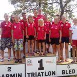 4 HSV – Stockerlplätze beim Bled-Triathlon