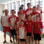 Gute Leistungen unserer 11 HSV-Kids beim Indoor-Aquathlon in Linz