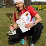 Kathi Nowak wird Österr. Meisterin W-U14 im Crosslauf!