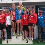 Gold, Silber und Team-Silber für unsere jungen HSV-Athleten bei den ÖM Nachwuchs im Aquathlon