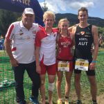 Lorber Tagessieger und Moitzi Tageszweite beim Kraigersee -Triathlon