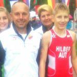 Rene Hilber Tagessieger beim ÖTRV-Nachwuchscup in Wallsee!