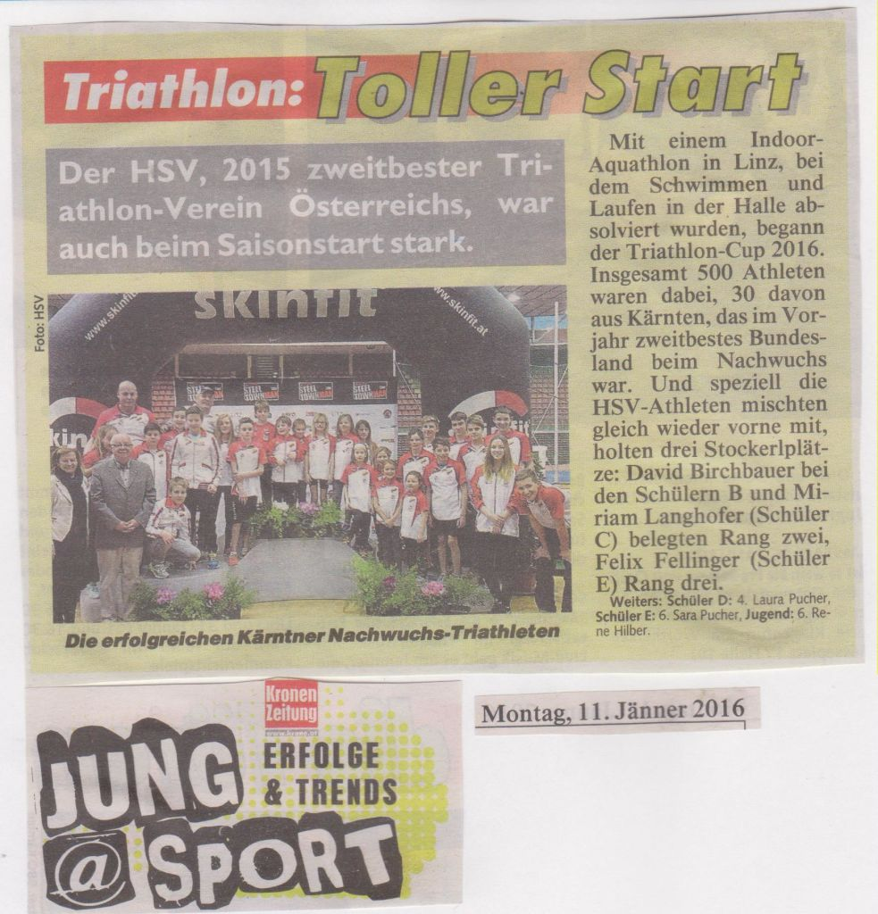 Kronen Zeitung, 11 01 16