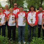 4 ÖM-Medaillen durch unsere HSV-Masters!