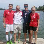 Moitzi gewinnt Gold, Lorber und Winter Silber bei den ÖSTM Sprint-Triathlon