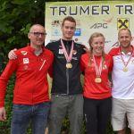 3 x Gold für HSV bei den ÖM Olymp. Triathlon in Obertrum