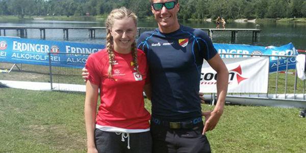 Lorber, Moitzi und Köstl wieder top und auch HSV-kids erfolgreich am Faakersee