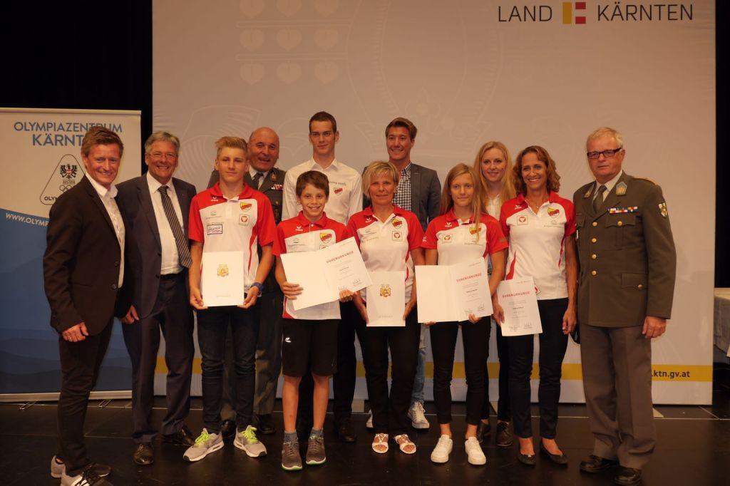 HSV-Ehrung-Team