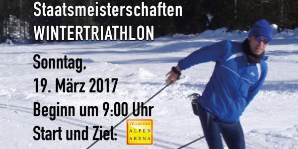ÖSTM/ÖM Wintertriathlon 2017 finden in Kärnten statt!