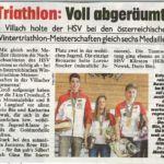 Slavinec und Schlagbauer gewinnen Kärnten ICEMAN Wintertriathlon