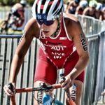 Lisa Perterer erkämpft Platz 14 bei den WTS Triathlon in Kanada