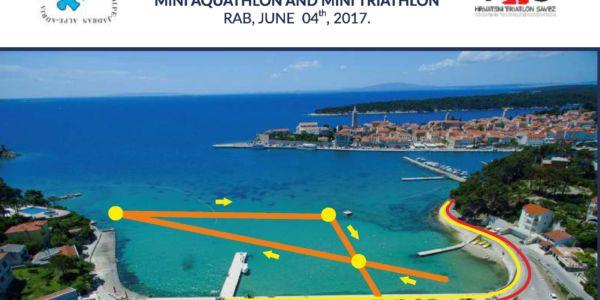 "3. Bewerb zum ""Alpe Adria Triathlon Cup"" in Rab/CRO am Sonntag, 4. Juni 2017"