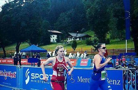 Anna Moitzi gewinnt Silber W-20 bei der ETU Triathlon-EM in Kitzbühel