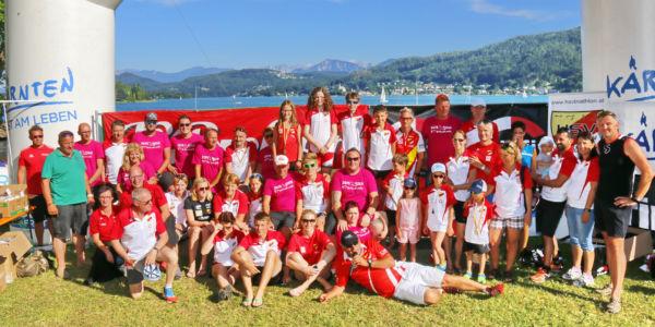 Danke an unsere Helfer beim 3-Tage-Sportweekend in Pörtschach am Wörthersee