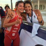 Lisa Perterer wird starke Dritte beim Triathlon-Weltcup in Mexiko