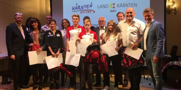 Ehrung unserer HSV-Top-Sportler durch Land Kärnten