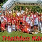 "HSV Triathlon Kärnten ist ""ÖTRV-Vereinscupsieger 2017""!"