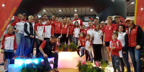 Indoor-Aquathlon in Linz – 22 HSV-kids erfolgreich
