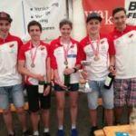 ÖM Duathlon Nachwuchs in Maissau/NÖ. Gold und Bronze für unsere HSV-Youngsters