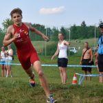 Rene Hilber erkämpft Platz 6 beim Triathlon-Jun-EC in Tulcea/RUM