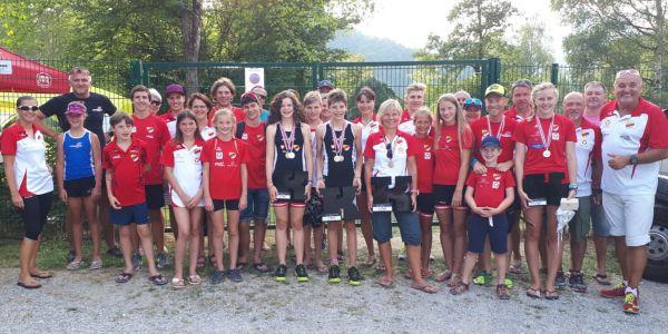 8 (!) ÖM-Medaillen für unsere HSV-Aquathleten in Tirol