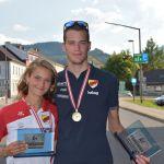 Köstl-Lenz und Wutz gewinnen Gold U-23 bei den ÖSTM Duathlon-Lang