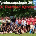 HSV Triathlon Kärnten erneut  ÖTRV-Vereinscupsieger