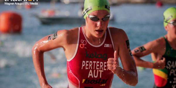 Lisa Perterer neuerlich mit starker Leistung beim Triathlon World Cup in China