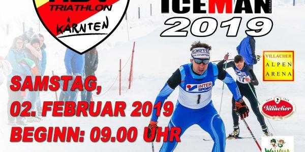 """""""Kärnten ICEMAN Wintertriathlon"""" am Samstag, 2. Februar 2019"""