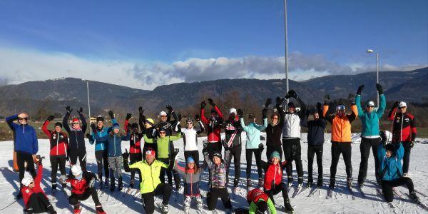 HSV-Langlauftraining zur Vorbereitung der Wintertriathlons