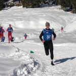 Robert und Vater Andreas Gehbauer finishen erfolgreich bei der WM Wintertriathlon