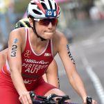 Lisa Perterer schrammte beim WM-Serienrennen auf Bermudas nur knapp am Podium vorbei