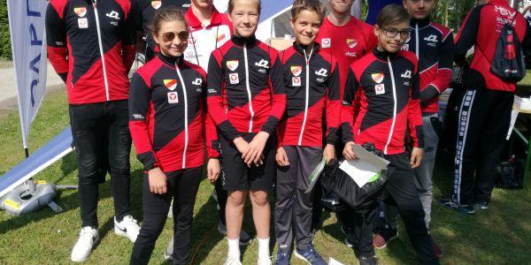 Erfolgreiches sportliches Wochenende in Klosterneuburg