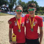 2 x Gold und 1 x Silber für den HSV bei den ÖM Triathlon Supersprint