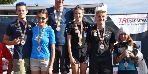 Starke Leistungen unserer HSV-Athleten beim Kraigersee-Triathlon