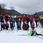Langlauftraining als Vorbereitung zu den Wintertriathlons