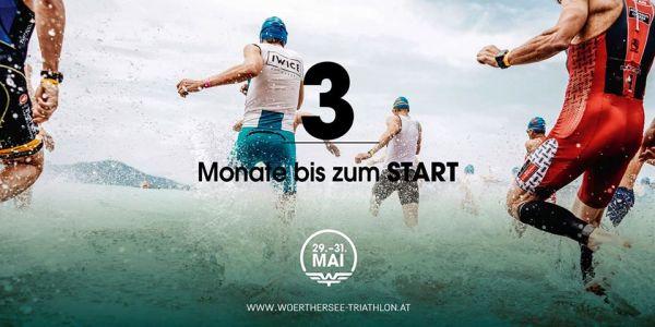 Es sind noch 3 Monate bis zum Wörthersee Triathlon 2020