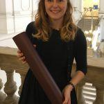 """Anna Moitzi wurde der """"Master of sience der Sportwissenschaften"""" verliehen."""