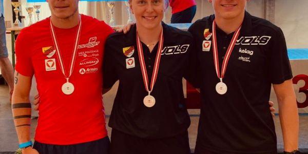4 Medaillen für en HSV bei den ÖM Aquathlon